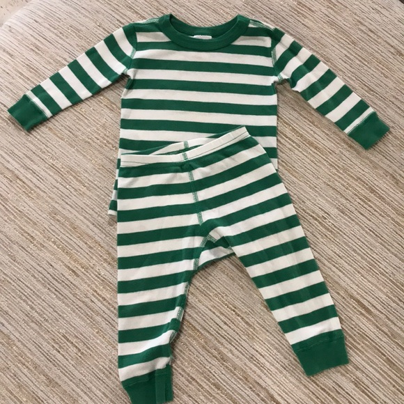 Hanna Andersson Other - Hanna Andersson Striped Cotton Pajama Set